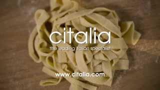 Learn How To Make Fresh Tagliatelle Pasta With Gennaro Contaldo | Citalia