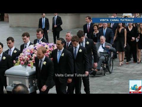 Expresidentes y élite de EU dan último adiós a Barbara Bush Video