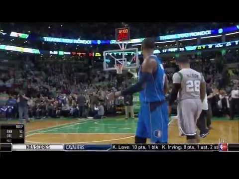 Boston Celtics honor Rajon Rondo with tribute video: Mavericks at Celtics