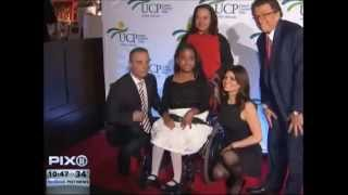 PIX 11 News story covering the 2014 UCP of NYC 5th Annual Santa Project Party