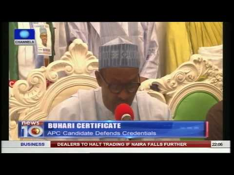 News@10: PDP Supporters Turn Out In Large Numbers During Kano Campaign 21/01/15 Pt.1