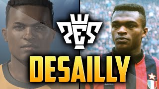 PES 2015 | MARCEL DESAILLY FACE | CLASSIC PLAYER
