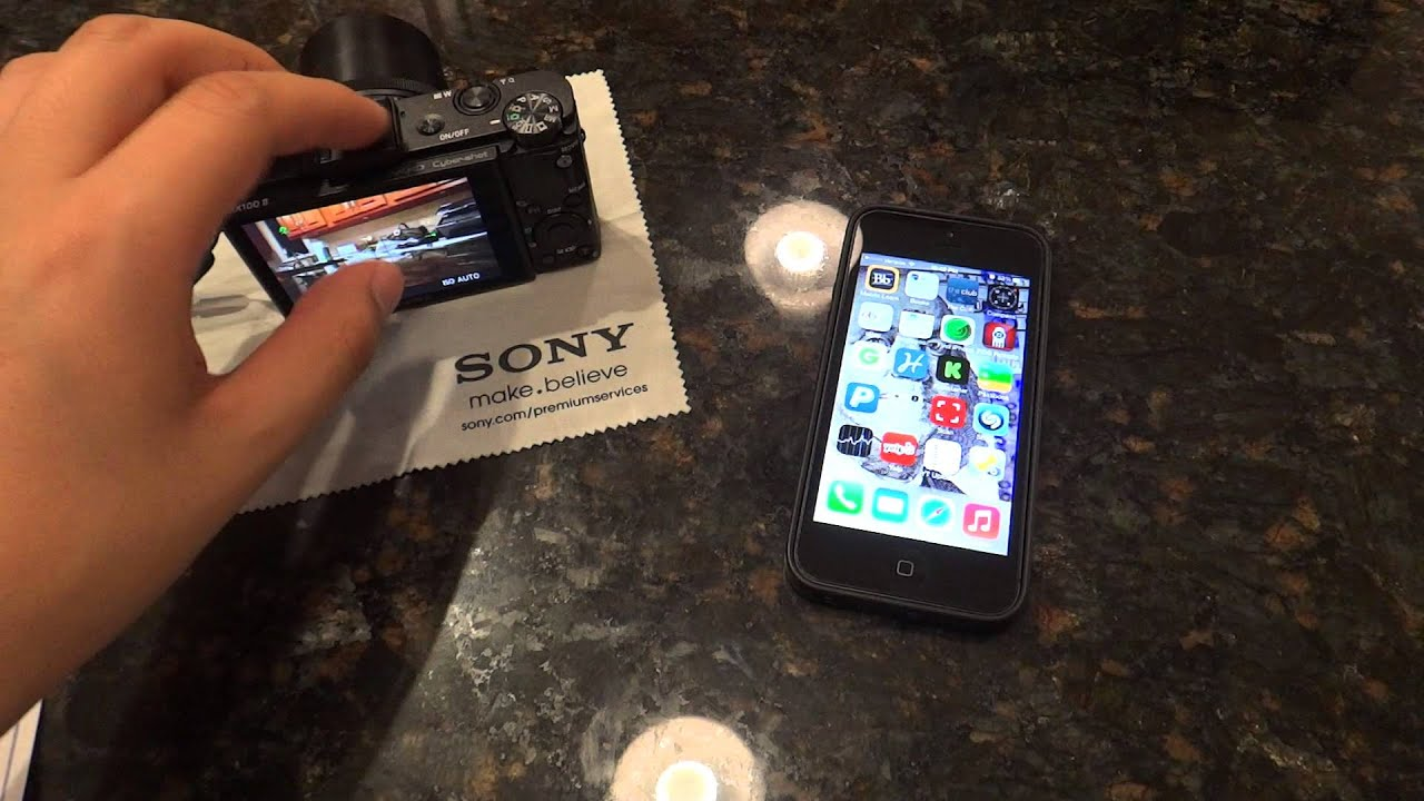 How To Transfer Photos From Sony Camera To Iphone