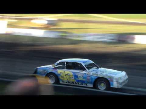 Hobby Stock Heat 4 @ Hancock County Speedway 06/28/16