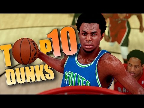 NBA 2K16 1st OFFICIAL TOP 10 DUNKS & POSTERIZERS Of The WEEK