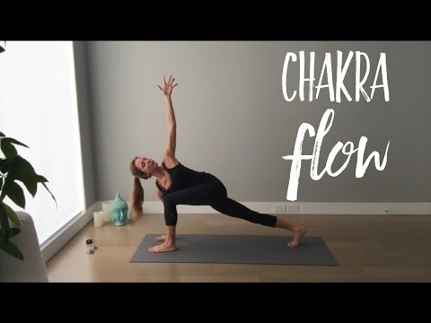 Chakra Flow - 20 Min Hatha Yoga to Balance Energy Centres