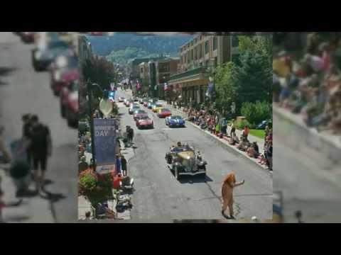Park City Miner's Day Parade 2014 On Historic Main Street, Park City, UT