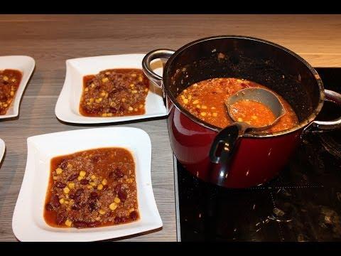 chilli con carne selbstgemacht