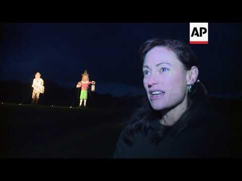 Weinstein effigy burned on UK bonfire night