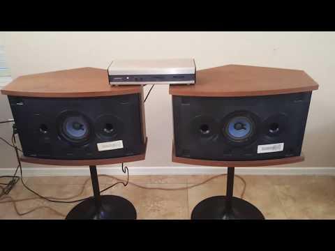 Vintage Bose 901 V Speakers Demo For Sale