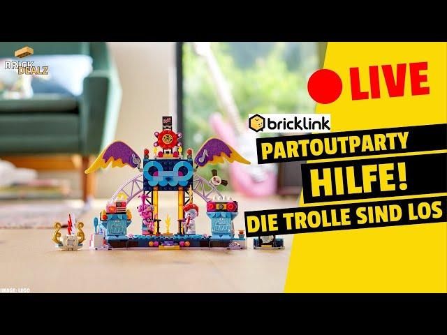 🔴 LIVE Partoutparty   HILFE! Die Trolle sind los