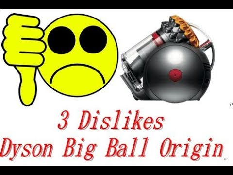 3 Dislikes About My Dyson Big Ball Origin Vacuum