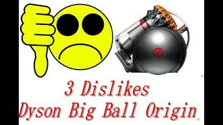 3 Dislikes About My Dyson Big Ball Origin Vacuum