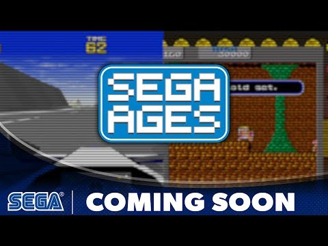SEGA AGES Wonder Boy & Virtua Racing | Coming Soon Trailer (UK)
