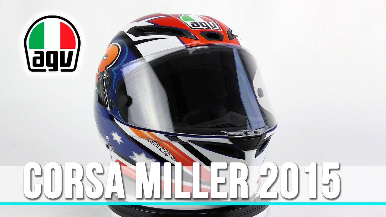 Casco AGV Corsa Miller 2015