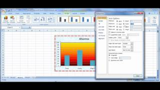 Tutorial Excel Modificar Gráficas(datos,color,escalas,títulos) thumbnail