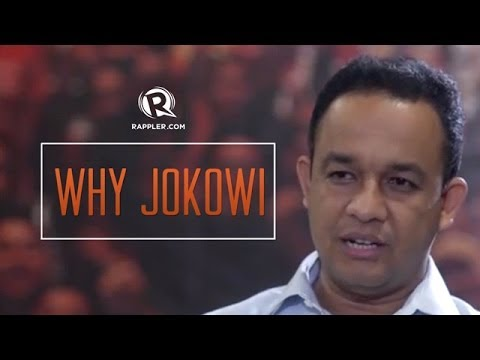 Why Jokowi? Anies Baswedan talks to Rappler (part 1)