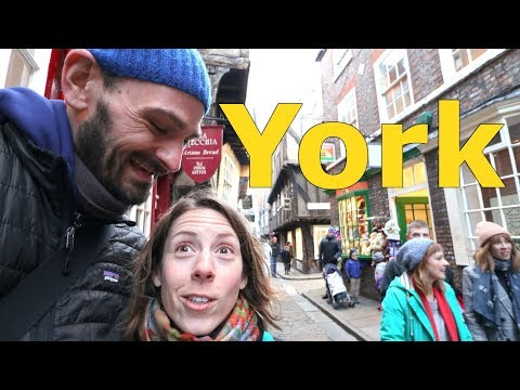 Exploring York, England