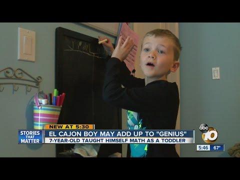 """El Cajon boy may add up to """"genius"""""""