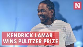Rapper Kendrick Lamar Wins Pulitzer Prize In Music
