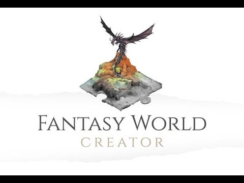 Fantasy World Creator Unboxing