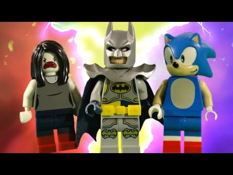 LEGO DIMENSIONS BATTLE - ADVENTURE TIME - SONIC - THE LEGO BATMAN MOVIE
