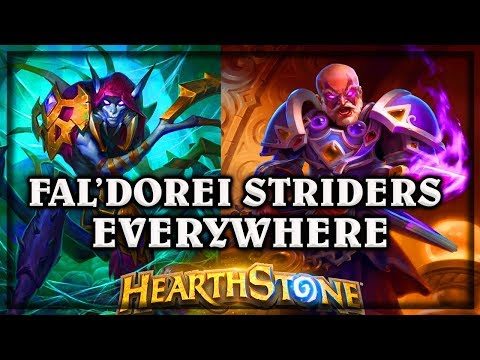Fal'dorei Striders Everywhere  ~ Kobolds & Catacombs ~  Hearthstone heroes of warcraft