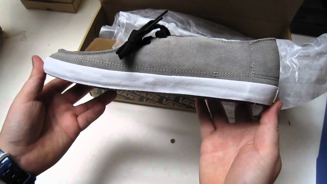 84b7079bbb Vans Rata Vulc Shoes Unboxing - (Dane) Grey - YouTube