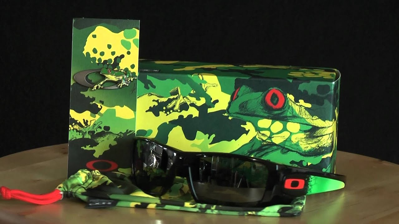 8e69b81641 Oakley Jupiter Camo Limited Edition Fuel Cell - YouTube