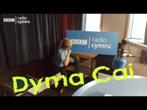Cai teaching Rhys Mwyn to skank bbc radio cymru - Caban - Coeden Ffati Dew