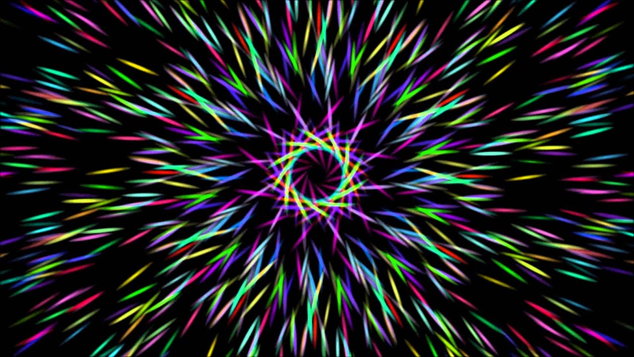Hypnotic Trance Meditation In A Kaleidescope Of Colors Lose Control Relax Music And Visuals