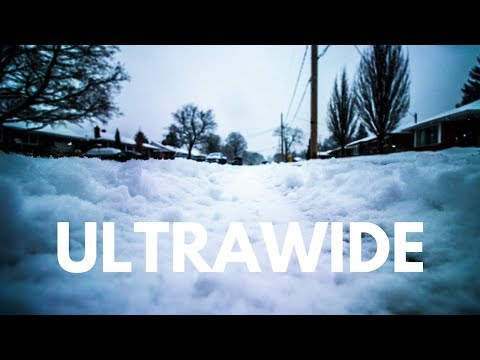 ULTRAWIDE Fun in the Snow - Playing at 10mm on the Canon 10-18mm