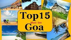 Goa Tourism | Famous 10 Places to Visit in Goa Tour