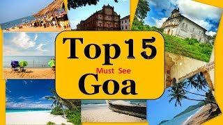 Goa Tourism | Famous 10 Places to Visit in Goa Tour thumbnail