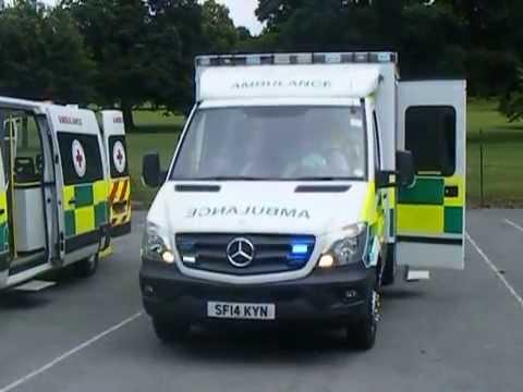 Brand new scottish ambulance service mercedes benz on for Mercedes benz emergency service