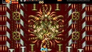 Contra Hard Corps All Final Bosses