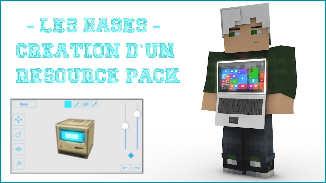 Tuto Les Bases Creer Un Resource Texture Pack Minecraft Youtube