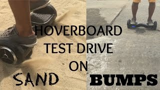 Hoverboard test ride on Grass, Sand and Rough roads