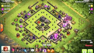 Higero plays clash of clans, just trying out screen recording software for android
