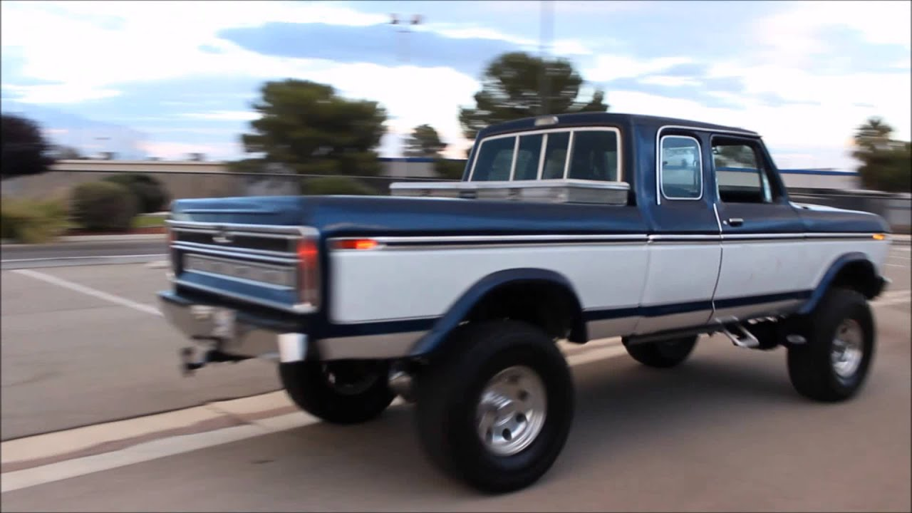 1976 Ford F250 Youtube