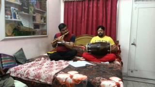 Learn to play flute ( raag bhopali)