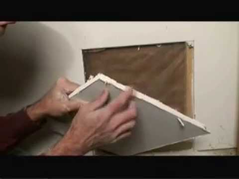 how to fix plasterboard to wall