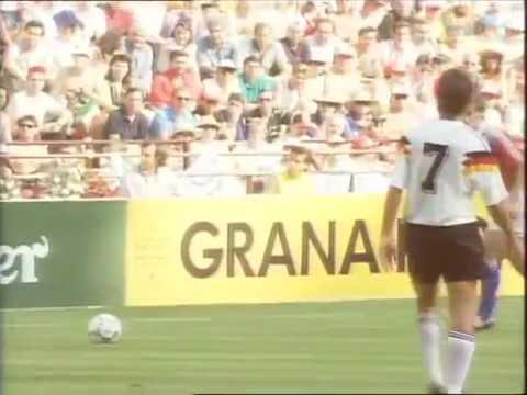 1990 47 Alemanha Tchecoslováquia West Germany vs  Czechoslovakia 1 0 01 07 1990