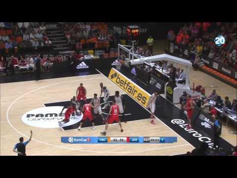 Highlights: Hapoel Jerusalem 81 at Valencia 77