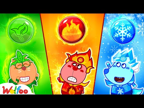 Wolfoo's Funny Stories about Fire, Water, Air, and Earth | Wolfoo Family Kids Cartoon