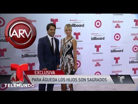 Esposa de Luis Fonsi volvió a defender a su hija | Al Rojo Vivo | Telemundo