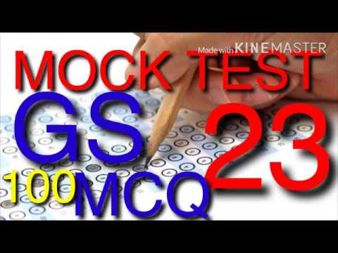 MOCK TEST 23 MPPSC 100 MCQ WITH EXPLATIONS(Right Academy)