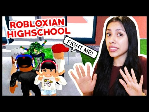 MY CRUSH AND BOYFRIEND GOT IN A FIGHT! - Robloxian Highschool - Roblox Roleplay