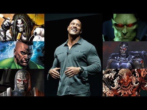Dwayne Johnson Drops Secret DC Character Hints