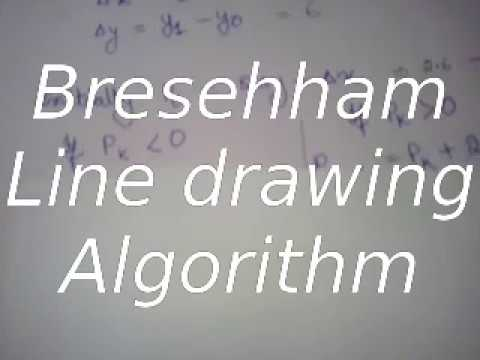 Bresenham Line Drawing Algorithm Solved Problems : How to solve bresenhams line drawing problem [computer graphics